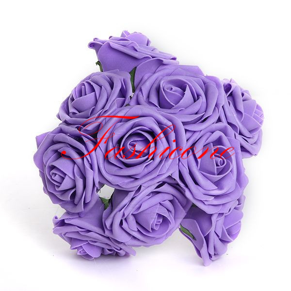 Bunch of Artificial PE Foam roses flowers, Wedding flowers, Craft, decoration(China (Mainland))