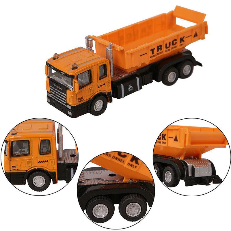 1:55 Diecast Lorry Dump Truck Car Model Alloy Plastic Children kid Toys Vehicle(China (Mainland))