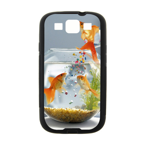 High Quality Jumping Fish tpu cell phone Case sfor samsung galaxy S3 i9300 case Support wholesales(China (Mainland))