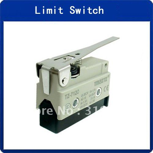 TZ-7120 Long Hinge Lever Momentary AC DC Micro Limit Switch 5PCS(China (Mainland))