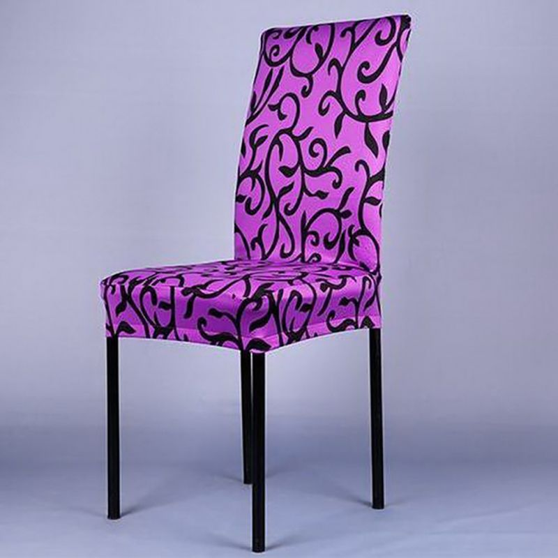 Super Fit Stretch Hotel Chair Cover Spandex Polyester Print Modern Chair Cover(China (Mainland))