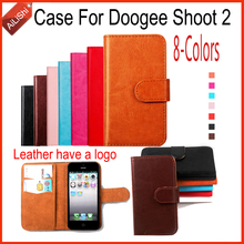 Buy AiLiShi New Arrive Wallet Protective Cover Skin Luxury PU Leather Case Book Flip Doogee Shoot 2 Case 8-Colors Factory for $4.49 in AliExpress store