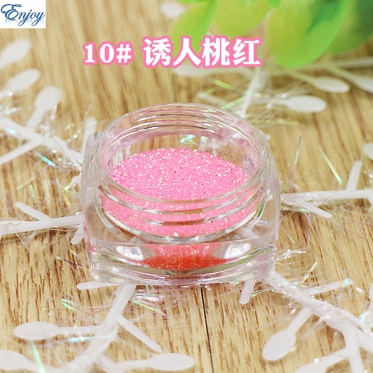 1/128(0.2mm) Normal series peach color Nail Glitter Nail Art Glitter Polish Matte Glitter Powder Dust,free shipping #10(China (Mainland))