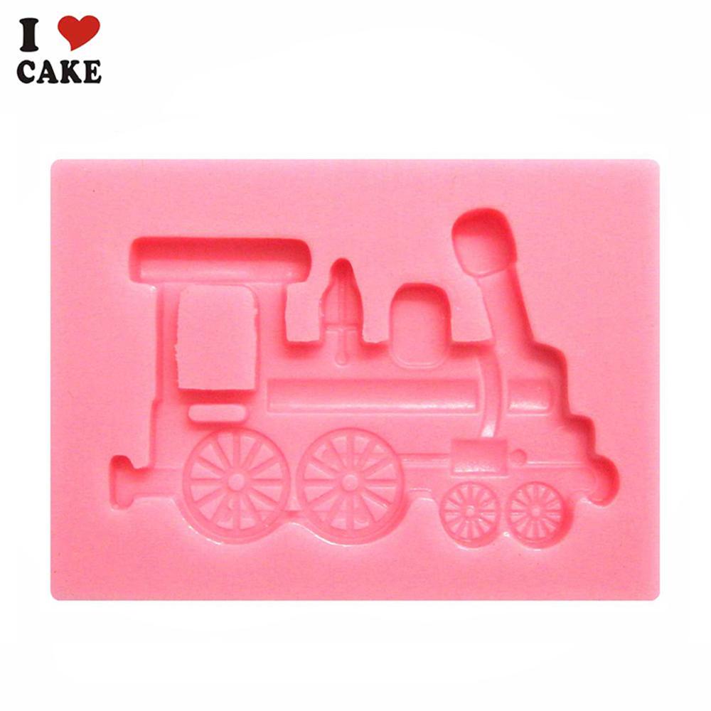 Cake Decorating Company Promo Code : free shipping Train silicone cake mold wilton ferramentas ...