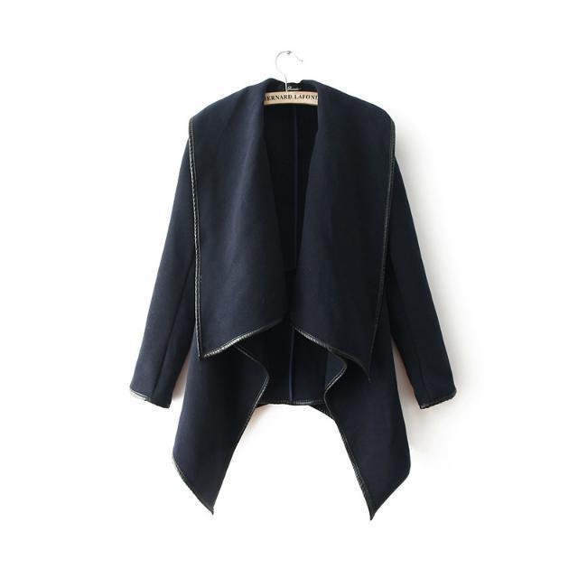 темперамент зимнее пальто шерсти женщин мода шерсть пальто шерсти Пальто пыли пальто 5 ярдов