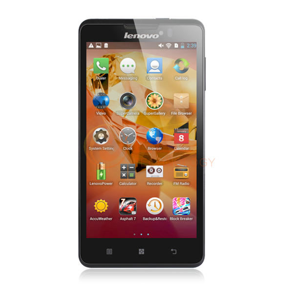 "5.0"" Lenovo P780 MTK6589 quad core 1.2GHz 1GB RAM 4GB ROM bluetooth GPS android 3G wcdma smartphone(China (Mainland))"