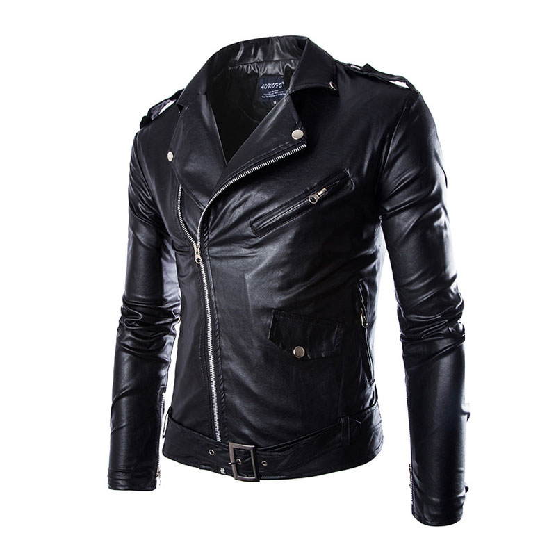 Leather Jackets Mens Coat spring 2016 Autumn Masculinas Inverno PU Jacket Jaquetas De Couro Motorcycle Leather Jacket Plus Одежда и ак�е��уары<br><br><br>Aliexpress