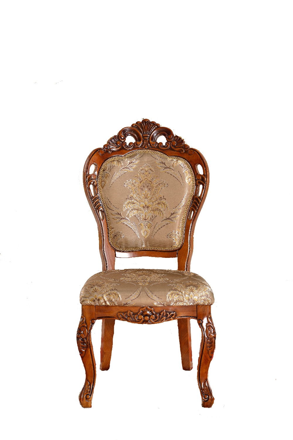 European Style Side Chair Dining Chair Hotel Restaurant Furniture Combination Banquet Dinner Chair Stool Carved Wood Chair 906(China (Mainland))