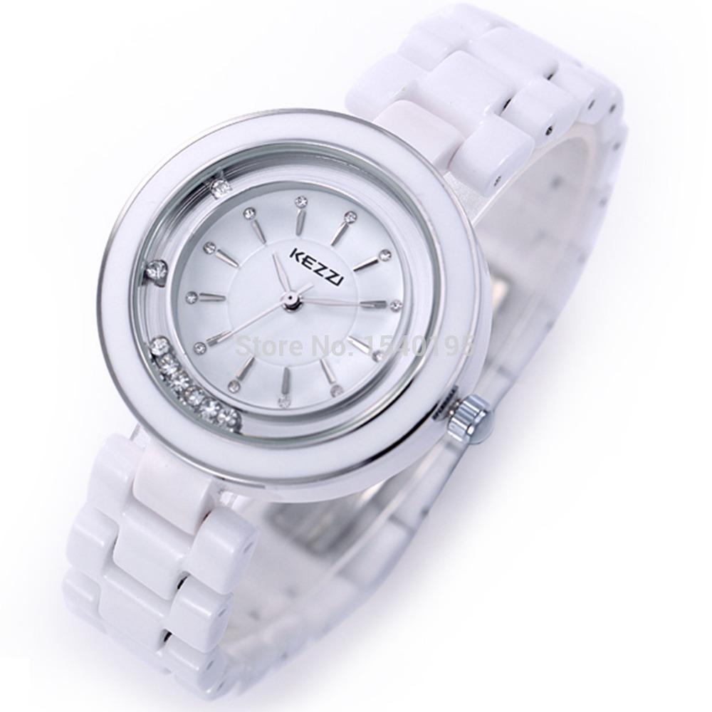 Kezzi Women Ladies Watch K810 Quartz Analog Ceramic Dress Wristwatches Gifts Bracelet Casual Waterproof relogio Free Shipping <br><br>Aliexpress