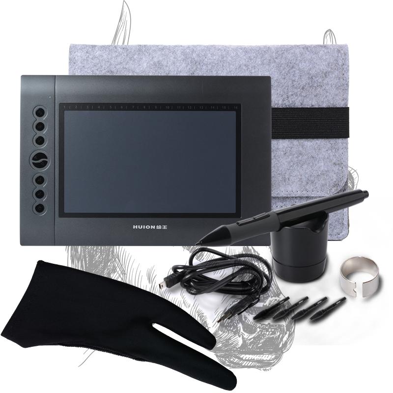 Huion H610 10x6.25 USB Art Smart Stylus Digital Graphics Drawing Tablet Signature Board +Cordless Digital Pen BI002<br><br>Aliexpress