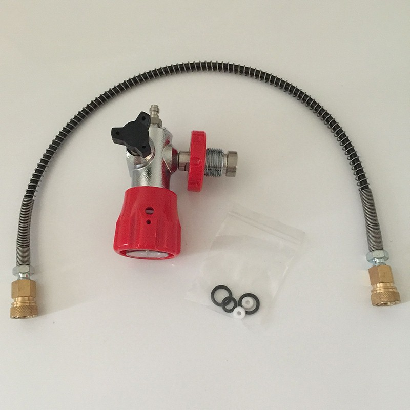 Competitive Price HP Air Tanks Paintball SCUBA CO2 Filling Station Refill Adapter Connector
