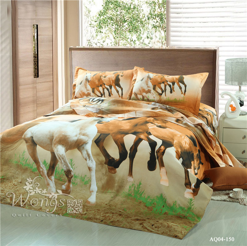 horse duvet covers buy cheap horse duvet covers lots from china horse