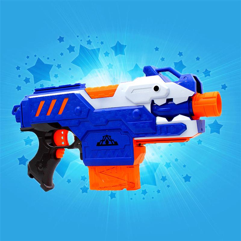 Nerf Plastic Gun Sniper Rifle Toys with 20 Soft Bullets & 1 Target Kids Electric Pistol CS Game Shooting Outdoor Fun Toys Guns(China (Mainland))