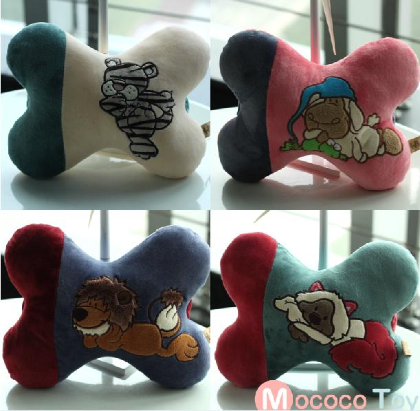 Plush toy stuffed doll NICI forest animal Pattern car Chair pillow cushion 1pc(China (Mainland))