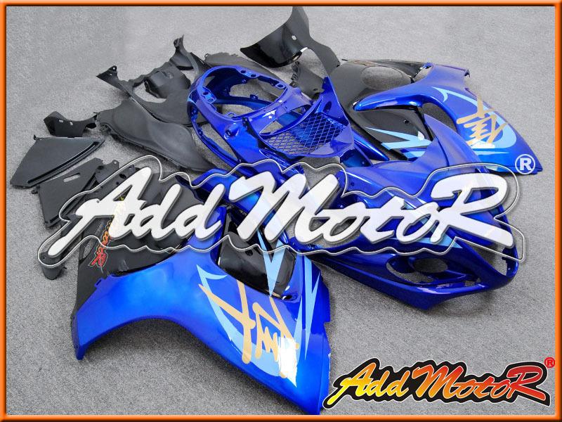 vendita caldo abs suzuki gsxr1300 hayabusa 2008-2013 08-13 08 09 10 11 12 13 abs moto carene nero bianco S3817(China (Mainland))