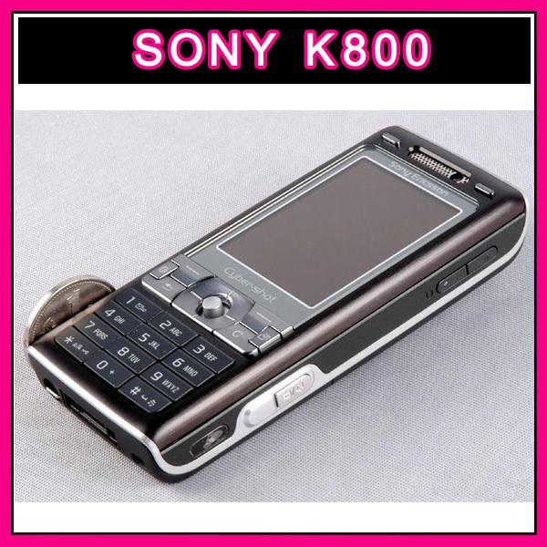 Original Unlocked Sony ericsson k800i Cell Phone 3G GSM 3.2MP Camera, Bluetooth with good quality refurbished(China (Mainland))