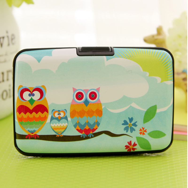 For Purse Owl Credit Card Business Card ID Card Holder Plastic Card Case *35(China (Mainland))