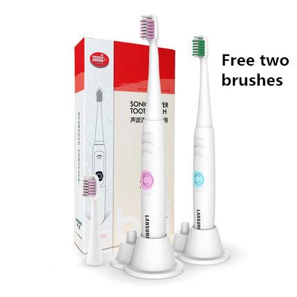 A39 Venda Nova Onda Ultra-sônica de Sonic Elétrica Adulto escova de Dentes Atendimento Odontológico escova de Dentes Branqueamento Bateria À Prova D' Água Rotativo Limpo