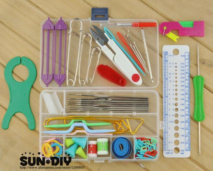 Нужные инструменты для вязания