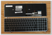 Laptop keyboard silver frame HP ENVY TOUCHSMART M6 M6-K M6-k088ca black US sereis SG-60810-X1A/SN7124/E1 V140902DS1 - Top-Almighty store