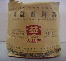 Freeshipping TEATAE 357g Yunnan Raw Puerh Cake 100 Quality Guarantee DaYi 7542 Puer Raw Tea 2011yr