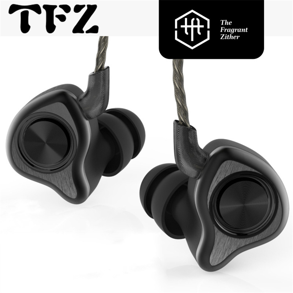 TFZ SERIES 5 wired Earphone Dual Dynamic In Ear Monitor Earphone Professional Noise Cancelling EarBuds Stereo Headset For Phone