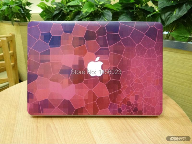 גביש סגול תא רשת מלא כיסוי עור עבור Apple MacBook Air/Pro/רשתית 11