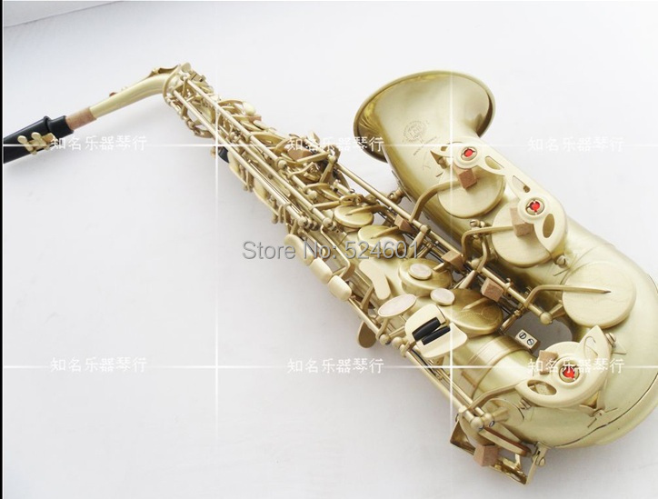 france henri selmer 54 alto saxophone antique copper simulation reference 54 green ancient drawing eb alto sax with mouthpiece