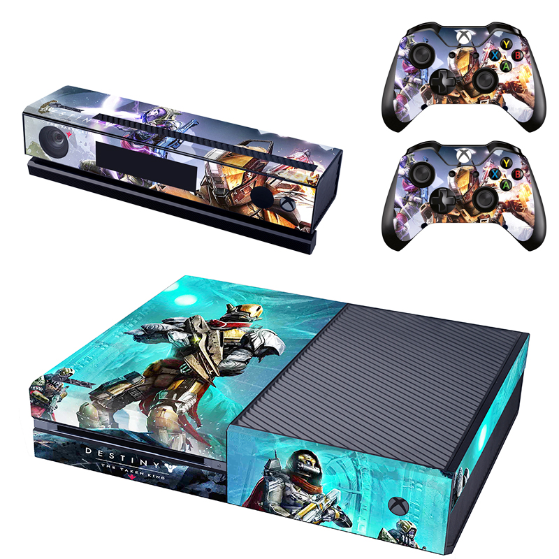 destiny decal for xbox one skin stickers kinect skin 2pcs controller protective skins on. Black Bedroom Furniture Sets. Home Design Ideas