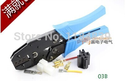 Free shipping LX-10 Spring 6.3 terminals terminal crimping pliers tool car connector,high-quality(China (Mainland))