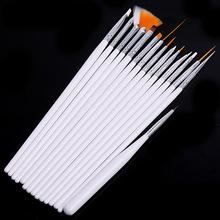 15 pcs nail art decorations brush set tools professional painting pen for false nail tips UV nail gel polish