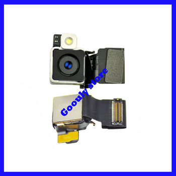 5pcs/lot Original 8.0 mega pixel Back rear Camera w/Flash for iPhone 4S Back rear Camera Free Shipping