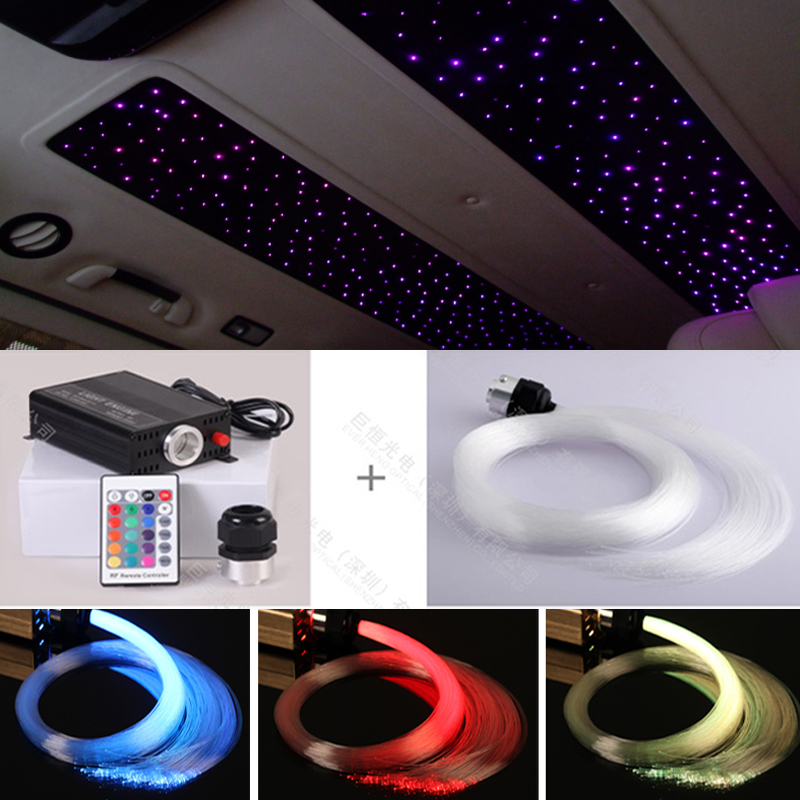 twinkle star fiber optic light for car roof bus ceiling decoration(China (Mainland))