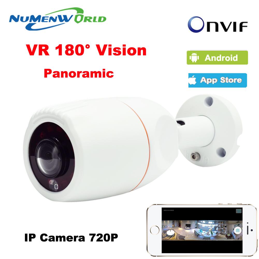 NuMenworld 180 Degree Panoramic Fish Eye Lens Outdoor IP Camera Night Veresion kamera APP Remote Control P2P IP Webcam Onvif(China (Mainland))