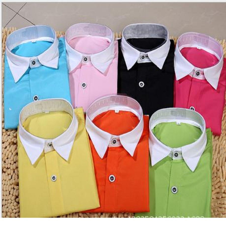 Children Clothing Baby Boys Dot Long-sleeve Brand Kid Blouse School Shirts for Boys Turn Down Collar Fashion Cotton Outwear T079(China (Mainland))