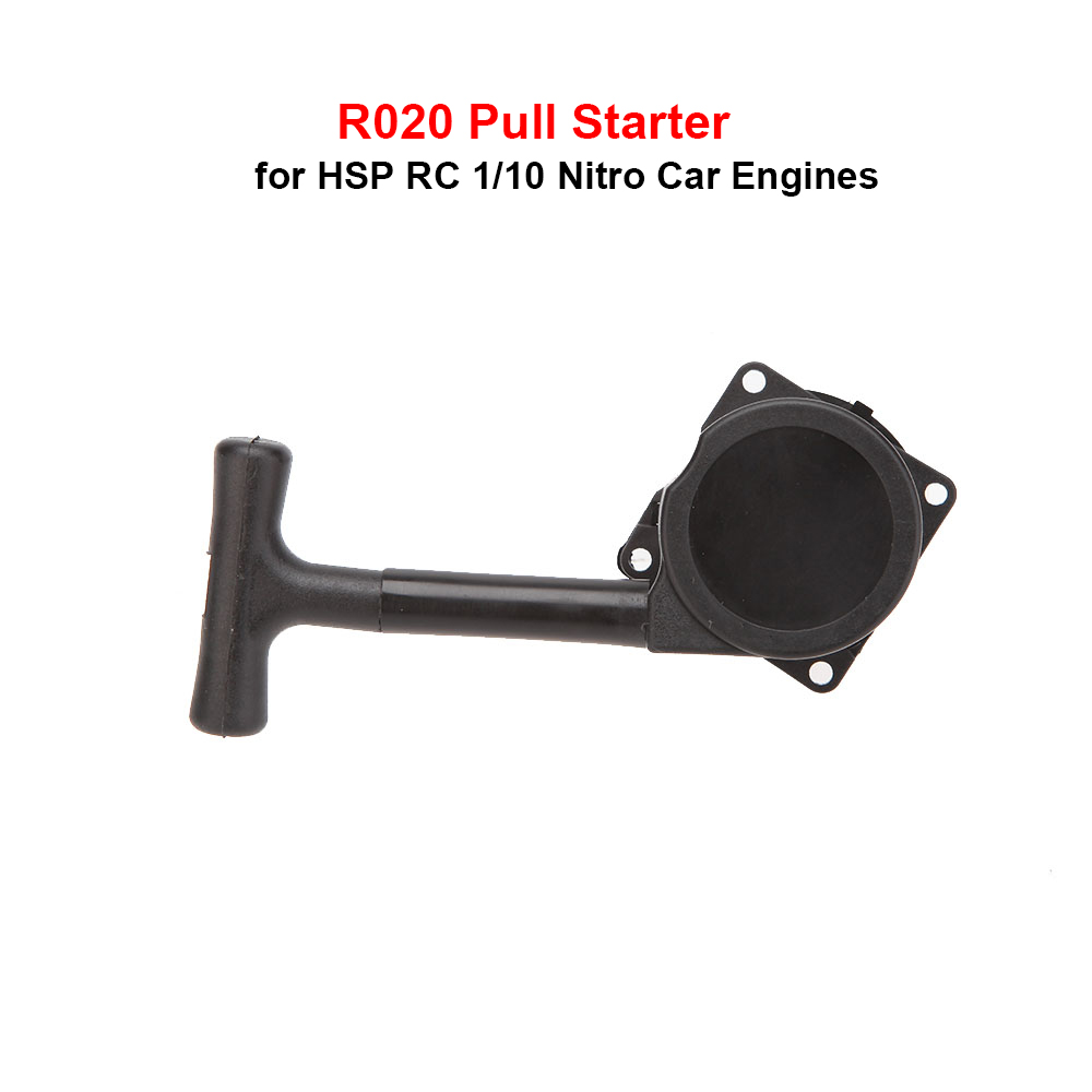 High Quality 1/10 R020 New Black Plastic Pull Starter for 1/10 HSP RC Nitro Car Engines RC Car Toys Hobbies Upgrade Parts(China (Mainland))