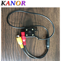 Universal Waterproof HD CCD 4 LED Night Vision Car Rear View Camera Parking Assistance