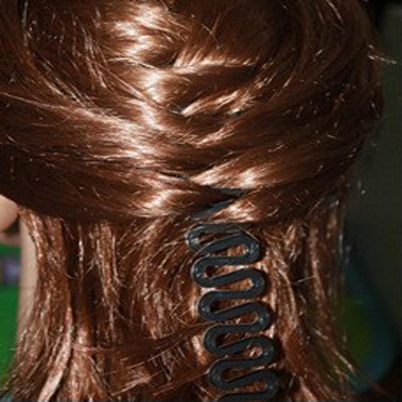 3pcs Fashion Hair Braiding Braider Tool Roller With Magic Hair Accessories Twist Styling Bun Gum For Hair Maker(China (Mainland))