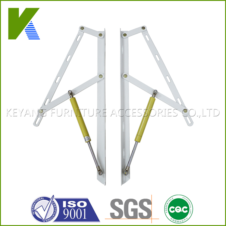 Adjustable Gas Spring Hinges For Folding Furniture Bed And Sofa KYB001(China (Mainland))