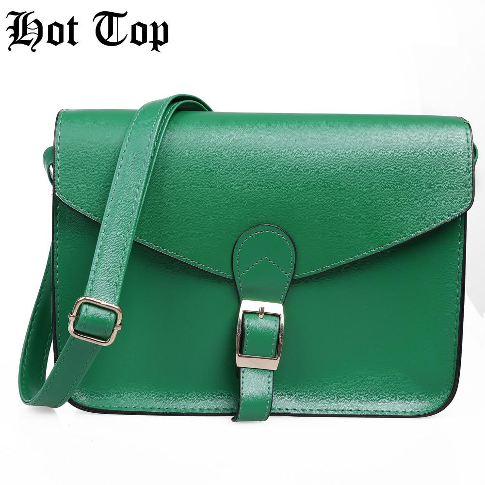 Green New Fashion For Women's PU Leather Satchel Shoulder Messenger Bag Handbag Free Ship(China (Mainland))