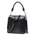 Crocodile print Leather Bag Women Classic Bucket Bag Stylish Ladies Luxury Gorgeous Shoulder Bag Occident Style
