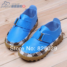 2014 spring free shipping child Moccasins male child leather single casual boat princess baby shoes(China (Mainland))