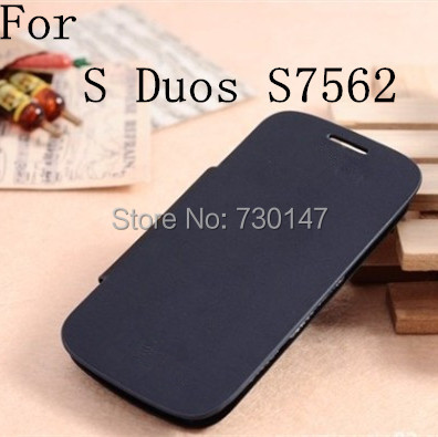 Flip Leather Back Cover Cases Battery Housing Case Samsung Galaxy S Duos s7562 7562 - SHENZHEN KAYKAY TRADE CO., LTD store