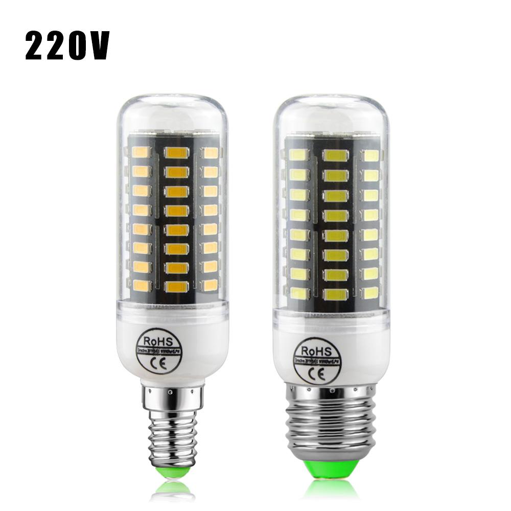 10Pcs/lot New Energy Saving Corn Led Lamps 72LEDs 9W E27 E14 220V Spotlight Bulb Heat Resistant Shell High Lumens Lighting light(China (Mainland))