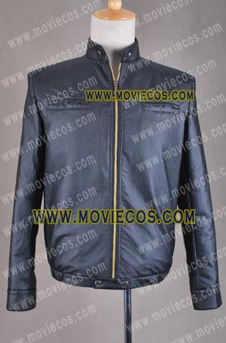 Здесь можно купить  17 Again Seventeen Again Mike Jacket Black Leather Coat cosplay costume  Одежда и аксессуары