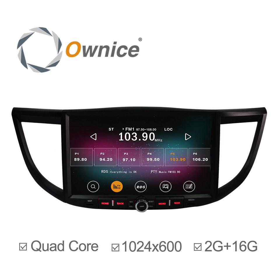 HD 1024*600 Android 4.4 Car Radio GPS for Honda Crv 2014 2012 2013 with Navigation Radio Bluetooth Player Support DVR 2G/16GB(China (Mainland))