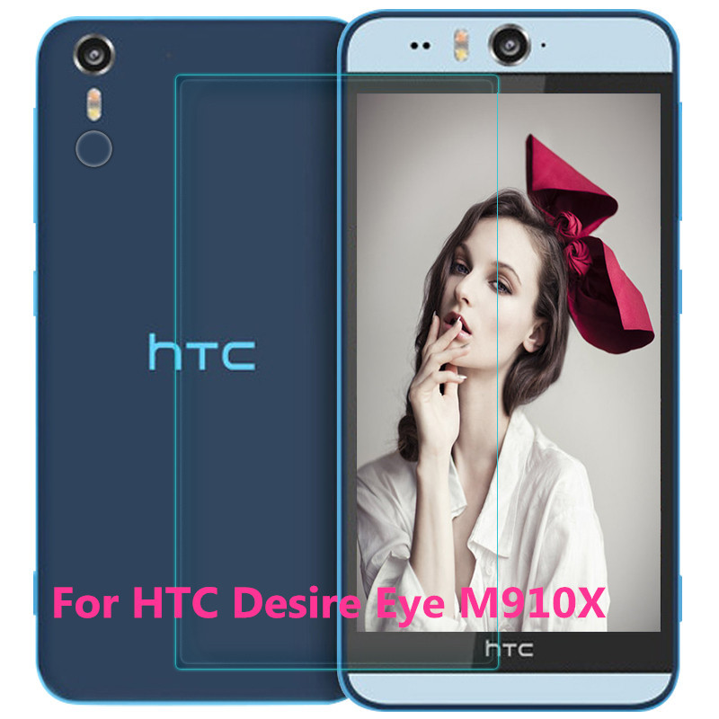 Amazing 9H Hardness Desire Eye 0.26mm Ultra-thin 2.5D Premium Tempered Glass Screen Protector for HTC Desire Eye M910X Film(China (Mainland))