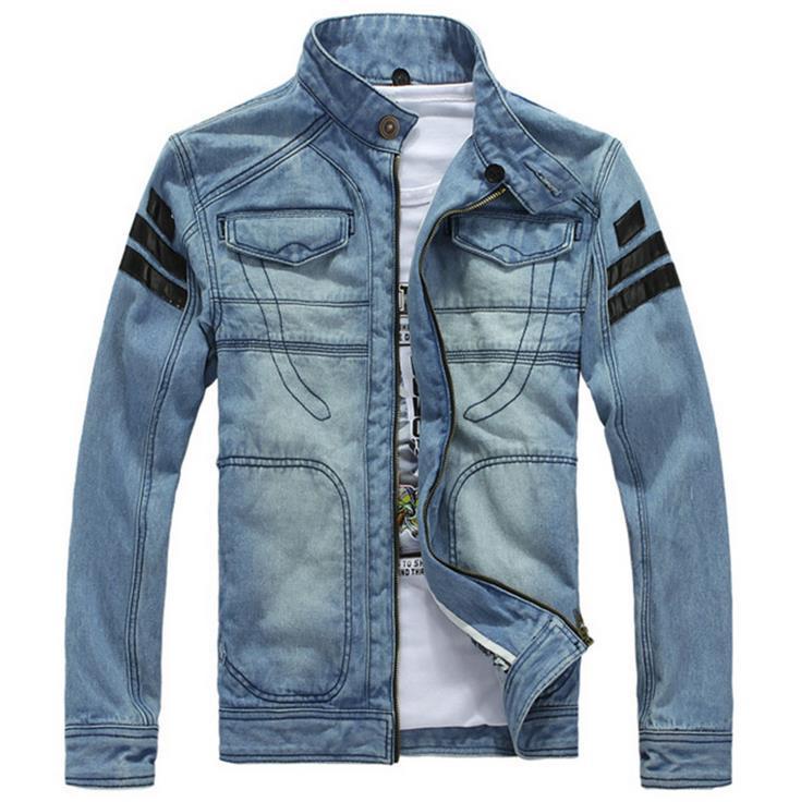 New-Fashion-European-Casual-Slim-Hooded-Jeans-Denim-Jacket ...
