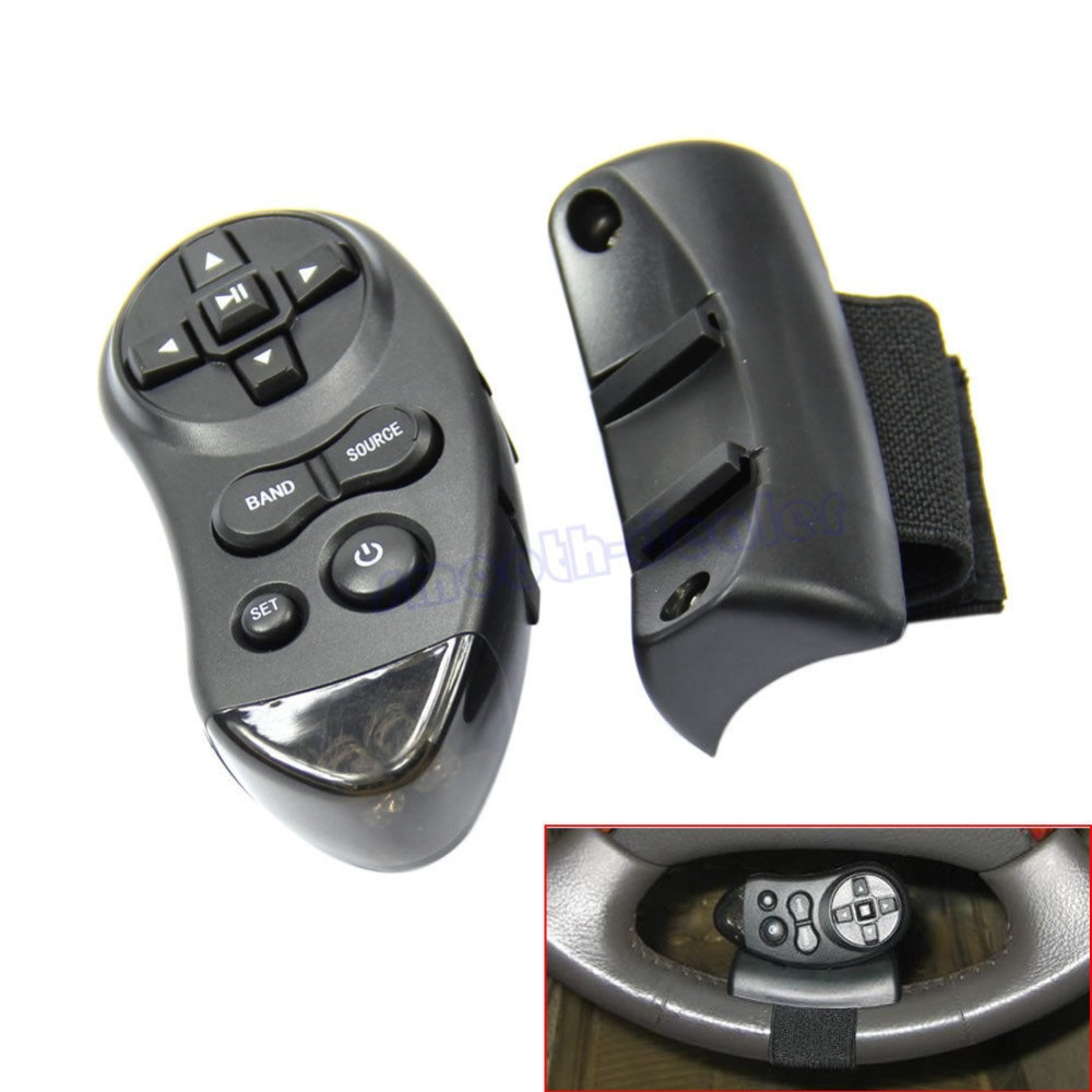 Car Universal Steering Wheel Remote Control Learning For Car CD DVD VCD(China (Mainland))