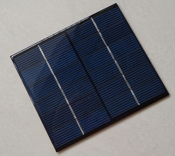 High Quality 2.5W 6V Small Solar Panel Polycrystalline Silicon Solar Cell DIY Small Solar Charger/Toy/Solar System Free Shipping(China (Mainland))